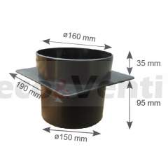 Chimney pot with electric fan ALFAWENT Plus