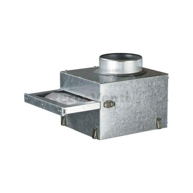 removable G3 metal filter-box for transported air purification