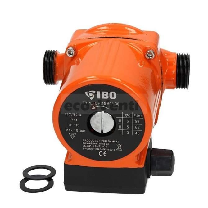 IBO OHI 15-60/130 | Hot Water Circulation Pump Central Heating