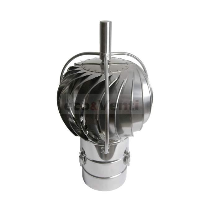 TURBOWENT TUZ B- Rotary Chimney Cowl Cap with base & external bearings | DARCO