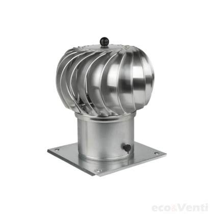 Rotary chimney cowl 150mm Galvanized Steel