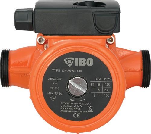 New Circulation Pump Ibo 25-80//180 Heating Pump Warm Water Pump Heater Efficient