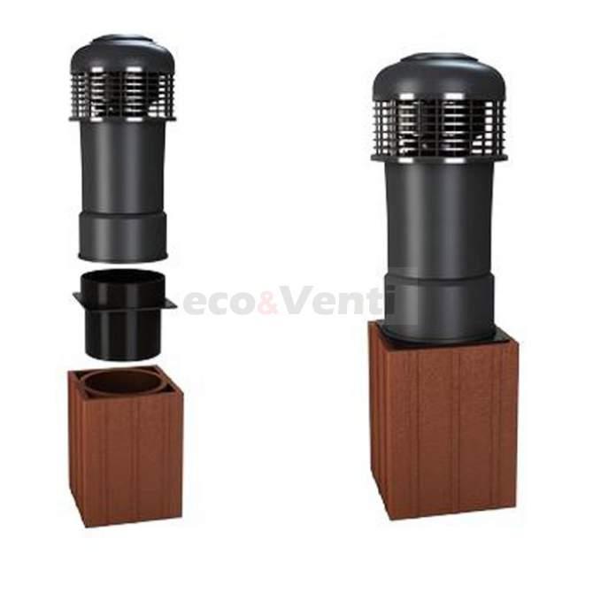 Schornsteinaufsatz mit mechanischem Ventilator ALFAWENT Plus