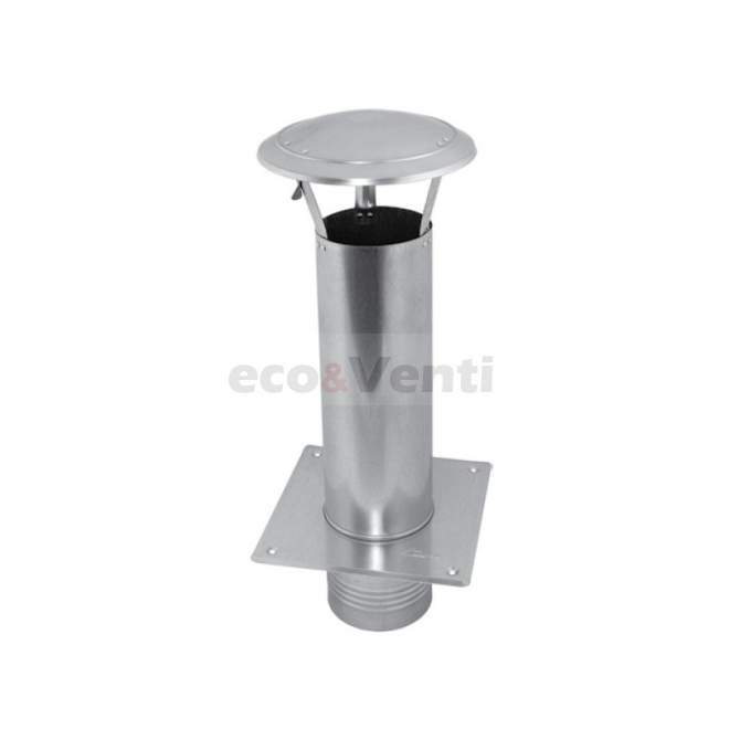 Chimney Cap WDA - Chimney extension with base | galvanized