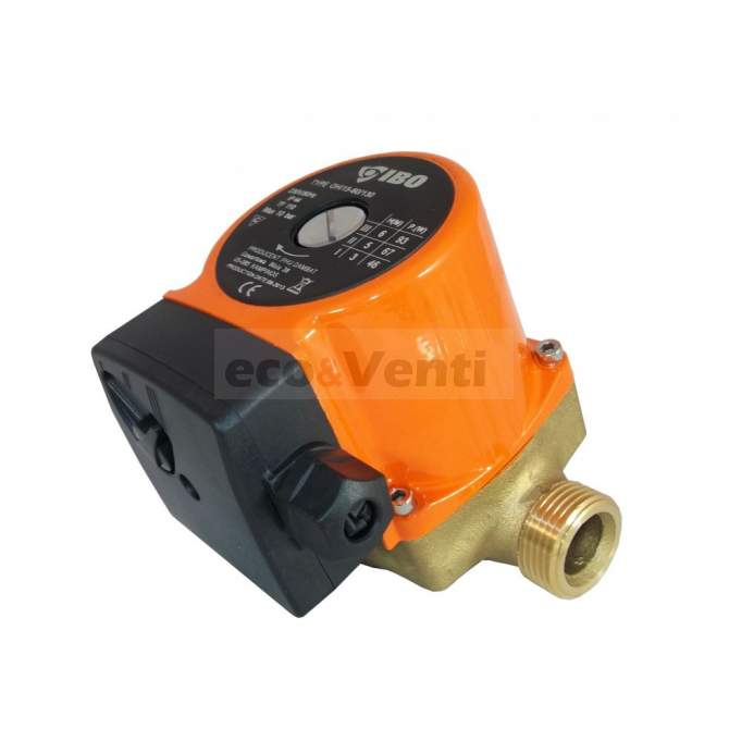 IBO OHI 15-60/130   Hot Water Circulation Pump Central Heating Brass