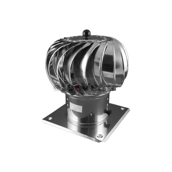 Rotary chimney cowl 150mm Stainless Steel