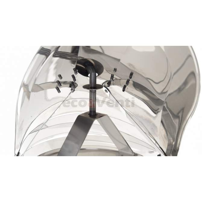 Schornsteinaufsatz mit außenliegendem Lager  |  Stainless Steel 1.4404 0,6mm
