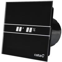CATA E-100 GTH BLACK - Domestic Wall Fan | Bathroom