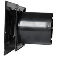 CATA E-100 Black - Domestic Wall Fan | Bathroom
