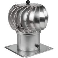 Rotary Chimney Cowl Cap | 150 mm | Galvanized Steel