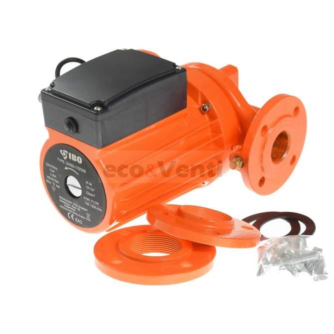 IBO OHI 50-170/250 | Pompe de circulation d'eau chaude industrielle Glandless