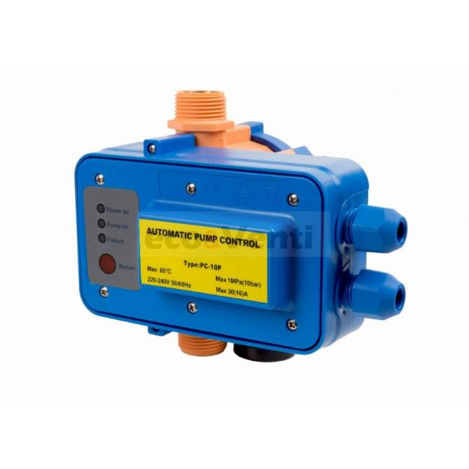 PC-10P ELECTRONIC DEVICE FOR ELECTRIC PUMP CONTROL | DAMBAT