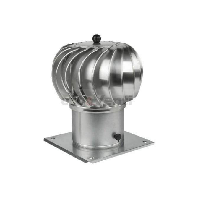 Capot de cheminée rotatif  | 150 mm