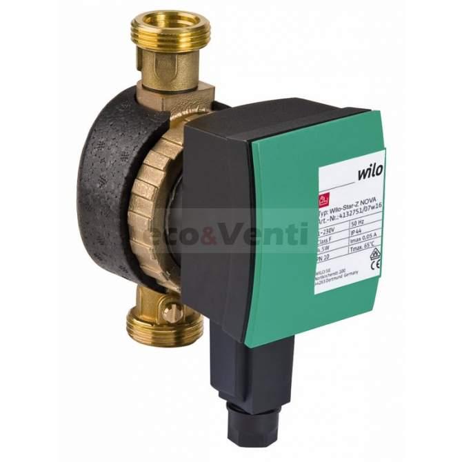 WILO STAR-Z Nova C Hot Water Circulation Pump