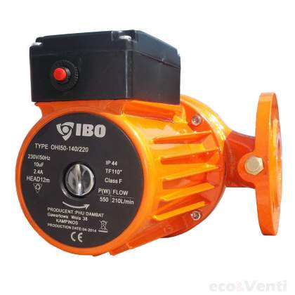 IBO OHI 50-140/220 | Glandless Industrial  Hot Water Circulation Pump