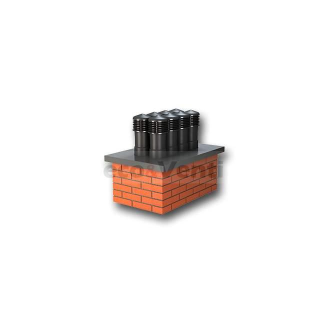 Chimney pot - ALFAWENT DN 150