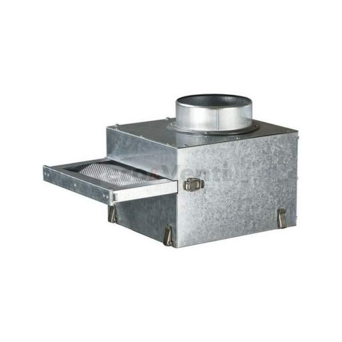 FFK - scatola filtro G3 in metallo rimovibile per la purificazione dell'aria trasportata