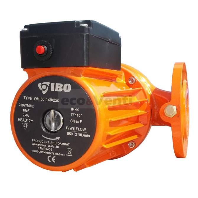 IBO OHI 50-140/220 | Pompa di circolazione dell'acqua calda riscaldamento centrale