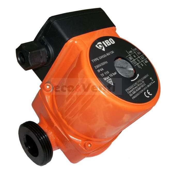 IBO OHI 25-60/130 | Bomba de circulación de agua caliente Calefacción central