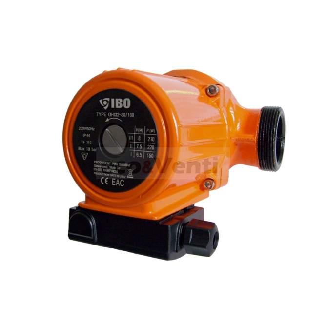 IBO OHI 32-80/180   Bomba de circulación de agua caliente Calefacción central