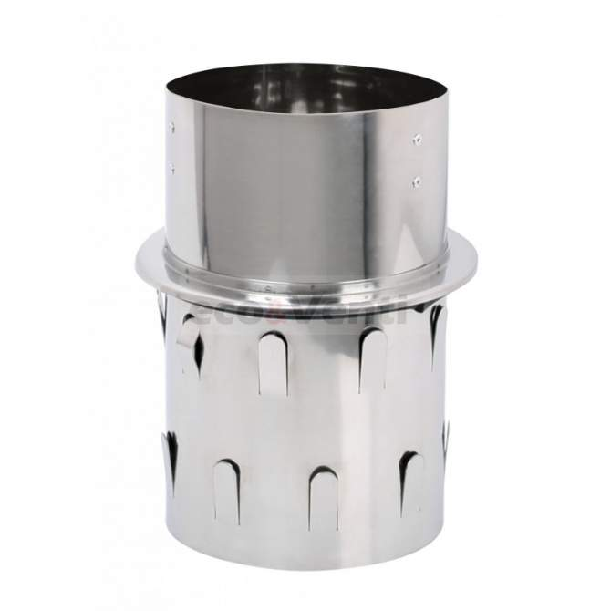 Push in base for Self-adjusting chimney cowl |  Stainless Steel 1.4404 0,6mm